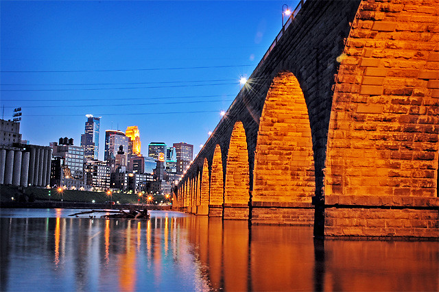 Minneapolis  Stone Arch Bridge  Picture of Minneapolis fro  Flickr