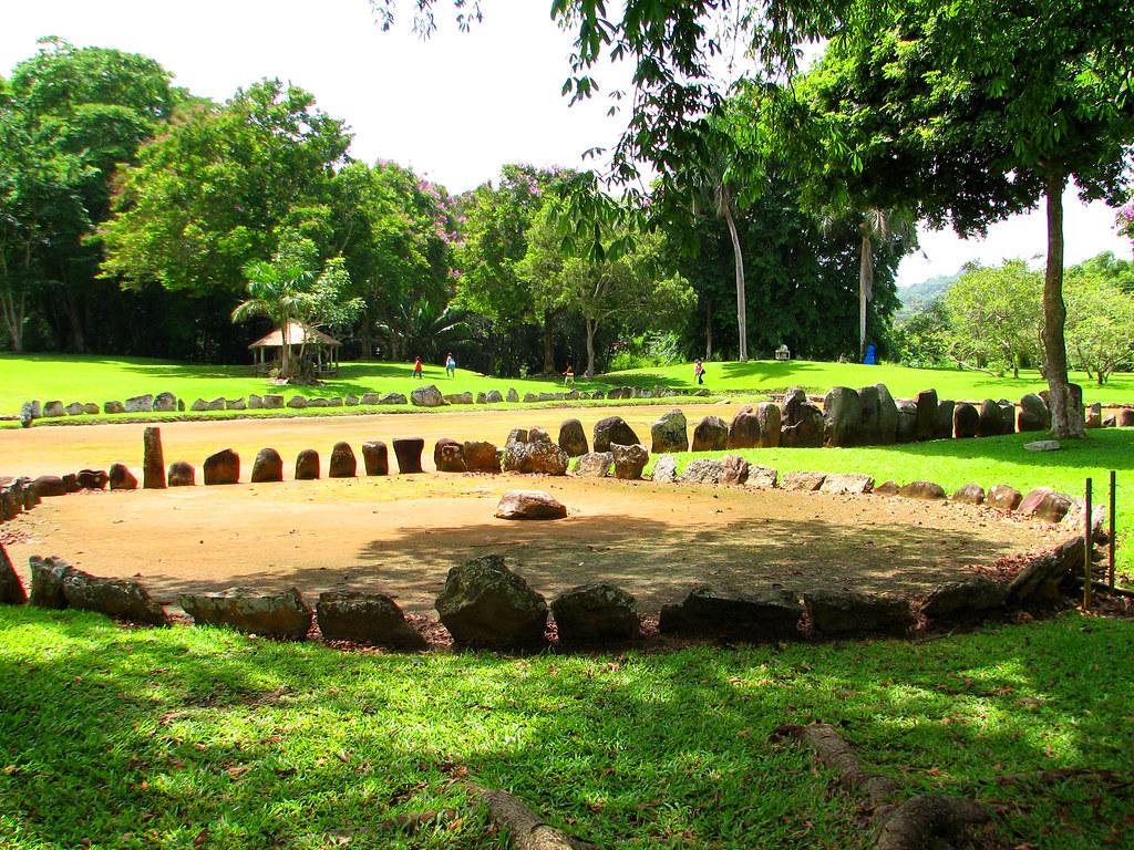 Batey At The Parque Ceremonial Indigena Caguana Utuado P