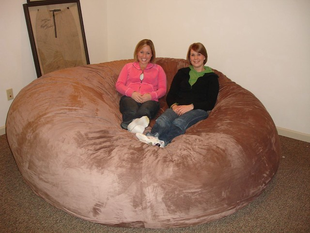 love sac chair inflatable target huge bean bag lovesac comfy sack fombag flickr by comfysacks