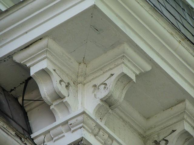 Wainwright House 1825 1881 Corner Cornice Bracket De