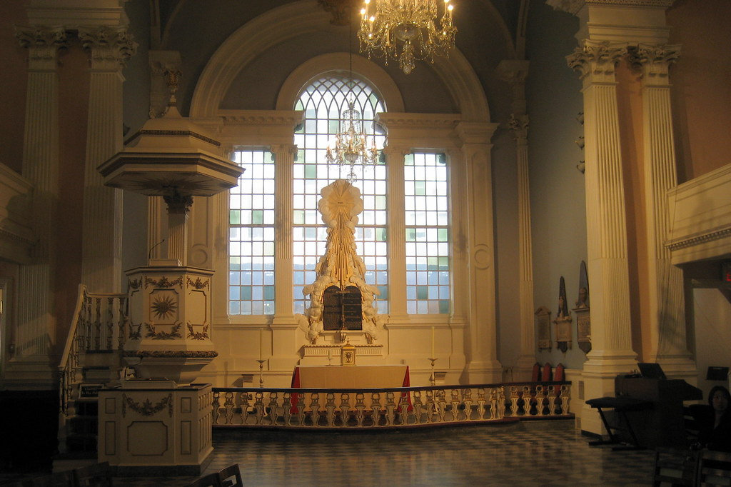 NYC  St Pauls Chapel  Altar  The ornamental design of t  Flickr