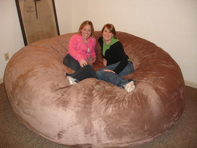 love sac chair best pool lounge chairs huge bean bag lovesac comfy sack fombag flickr by comfysacks