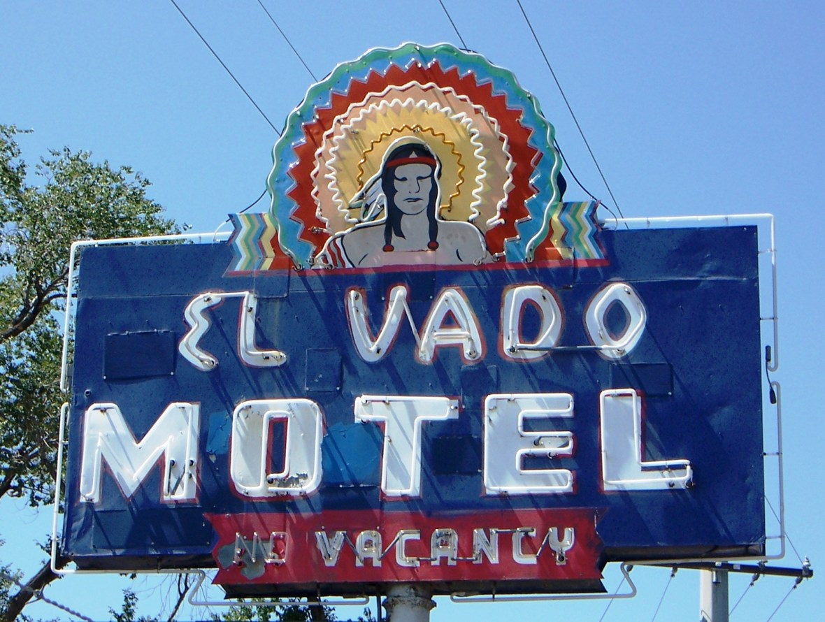 El Vado Motel - 2500 Central Avenue SW, Albuquerque, New Mexico U.S.A. - July 19, 2007
