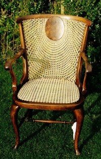 Sunrise back cane chair | A very attractive chair with ...