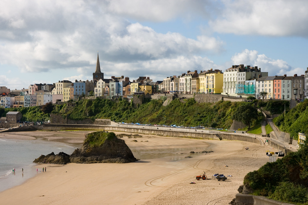 Tenby North Beach 2 Chris Rimmer Flickr