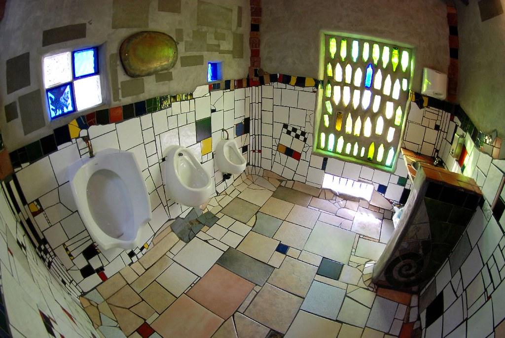 Hundertwasser Toilets  Kawakawa Northland New Zealand