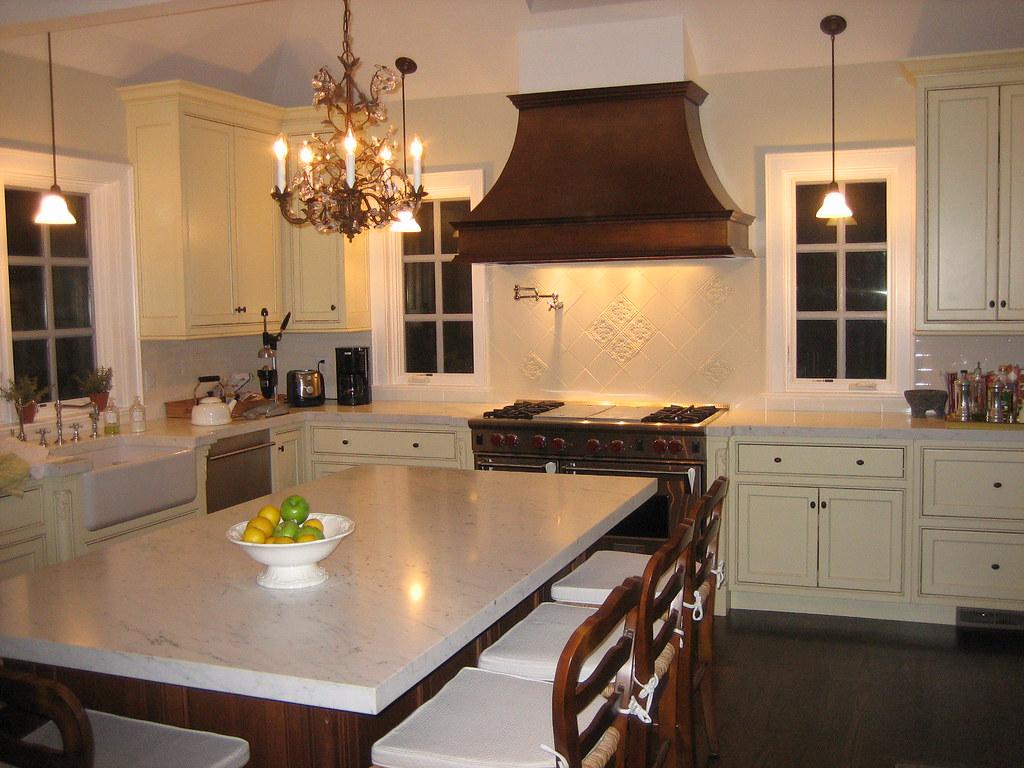 kitchen hood design setup ideas elegant with copper focal point | ...