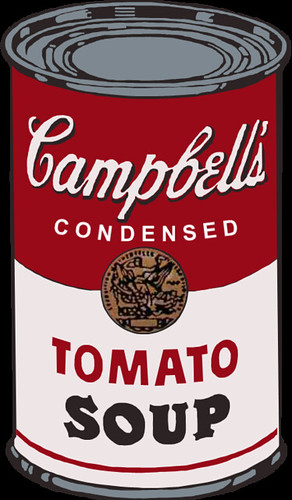 Campbells Soup Can Vector  I did this with Adobe Photoshop  Flickr