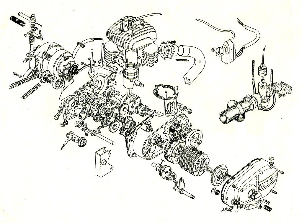 Bultaco Engine Diagram