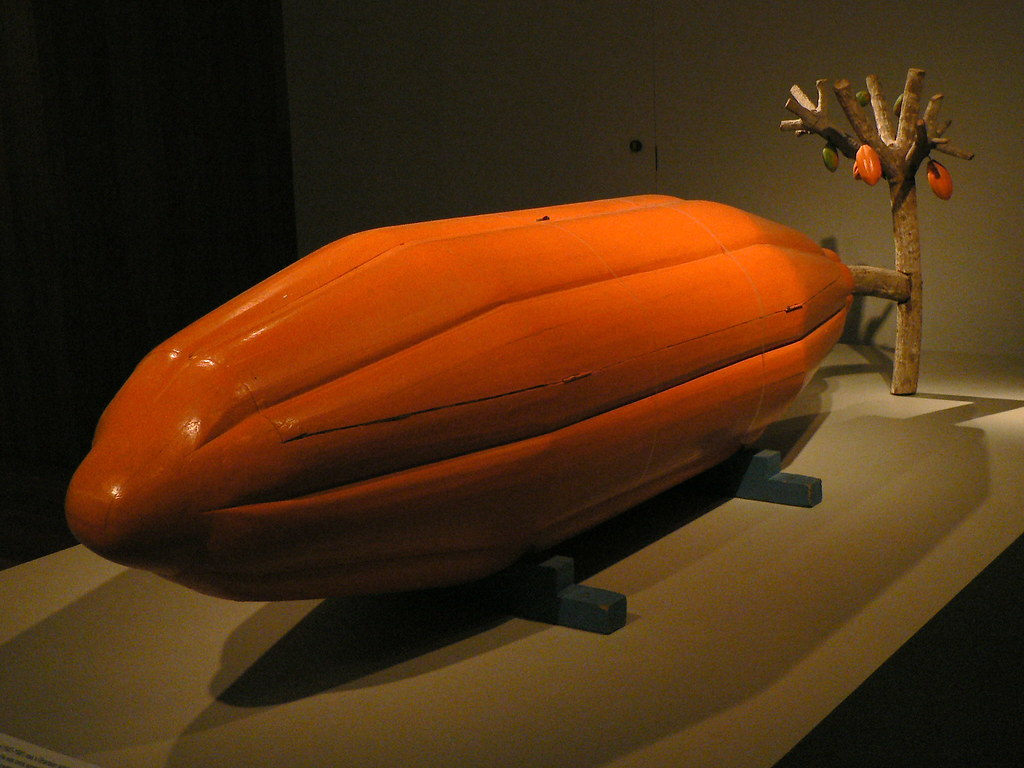 Cocoa Pod Coffin Museum Notes Kane Kwei B 1927 Coffin