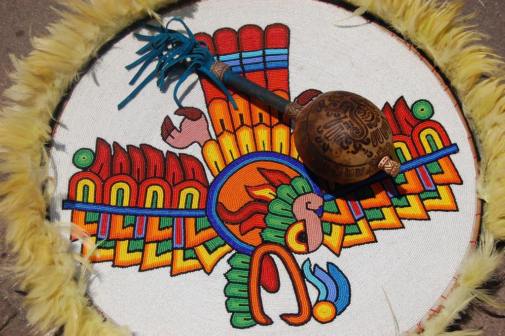 Escudo Azteca  Escudo Azteca smbolos de la identidad naci  Flickr