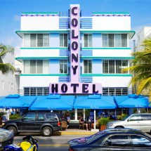 Colony Hotel 1939 736 Ocean Drive South Beach Miami