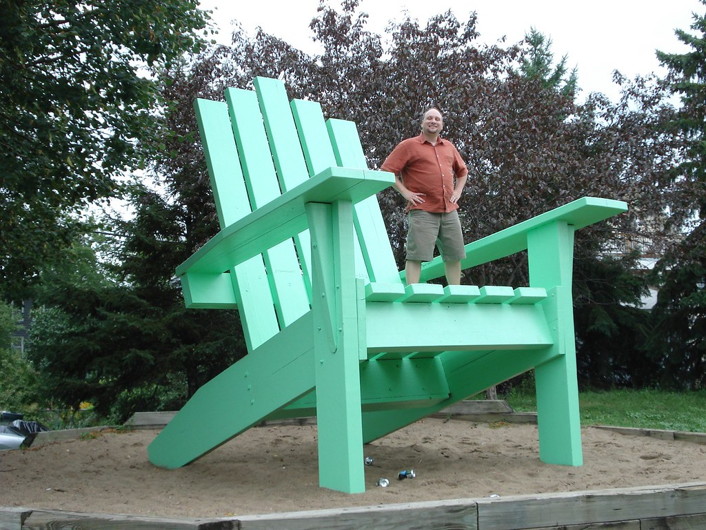 Worlds Largest Adirondack Chair  Saint Paul Minnesota