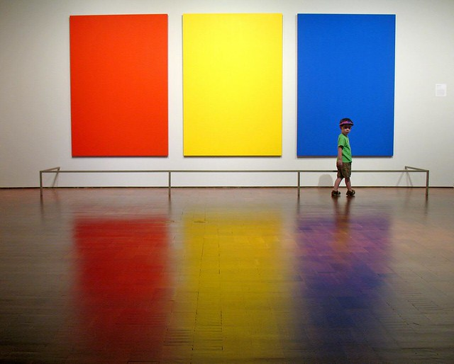 Red Yellow Blue Green  Ellsworth Kelly Red Yellow
