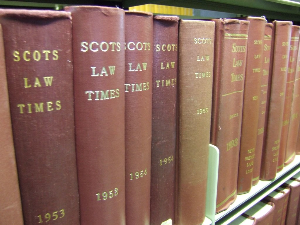 Scots Law Times A Prominent Title In The Law Reports