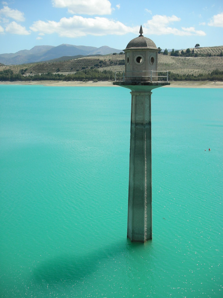 Very Riven  Myst  This is the Los Bermejales reservoir