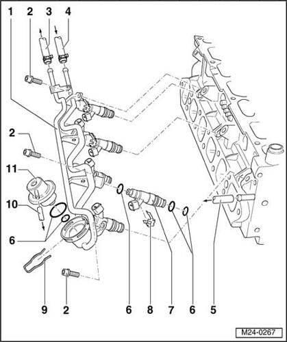 volkswagen polo engine diagram