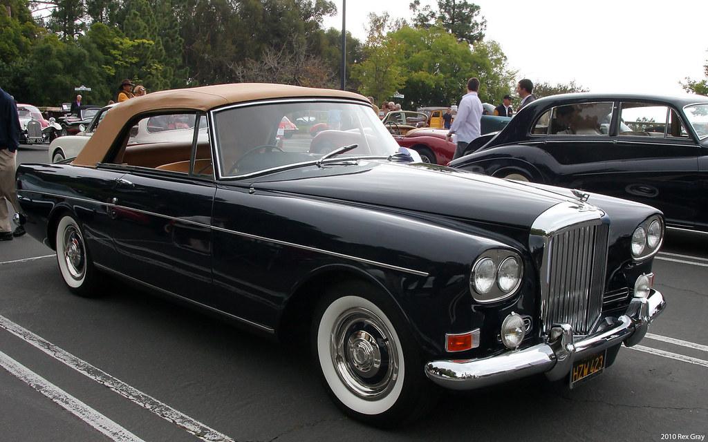 1965 Bentley S3 Continental Convertible Park Ward  fvr