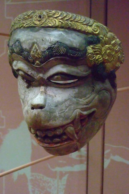 Balinese Wayang Topeng Theater Masks 1 Photographed At