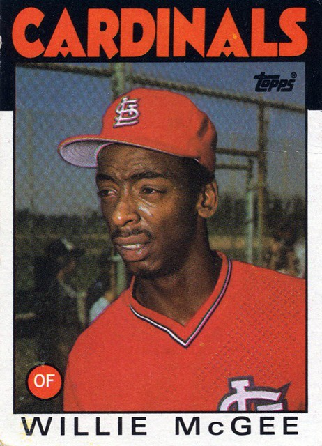 1986 Topps Willie McGee 51 See My Set For More Flickr