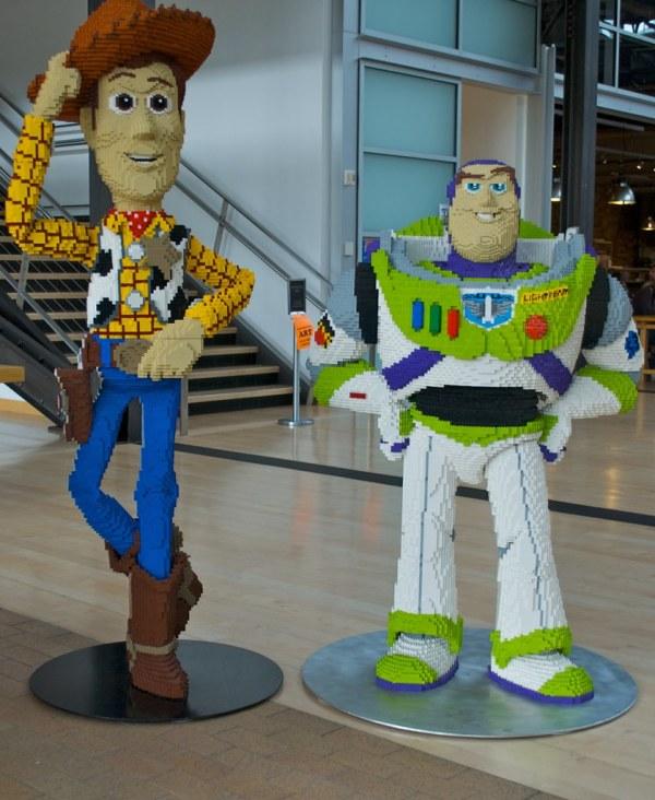 Pixar Animation Studio San Francisco Cartoon Art Museum