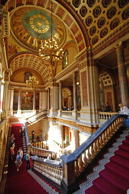 The Foreign Office  Grand Staircase  Whitehall  London