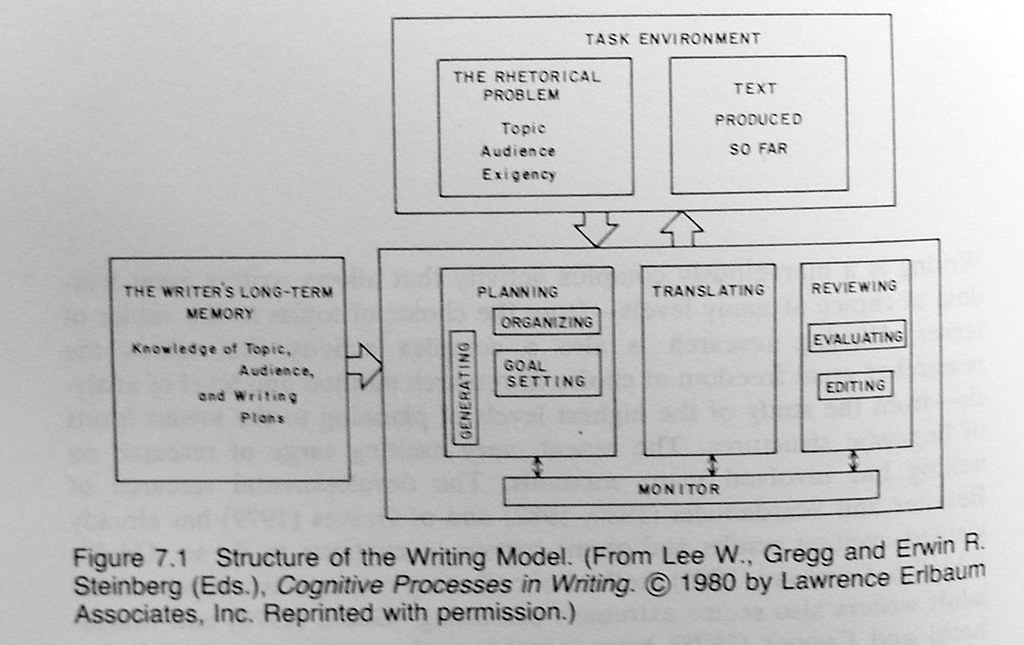 Cognitive Process Model P 208 From 1981 Hayes John