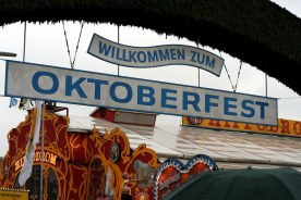 authentic munich oktoberfest photo