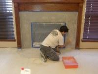 Dan Sealing Concrete Fireplace Surround | Impressive ...