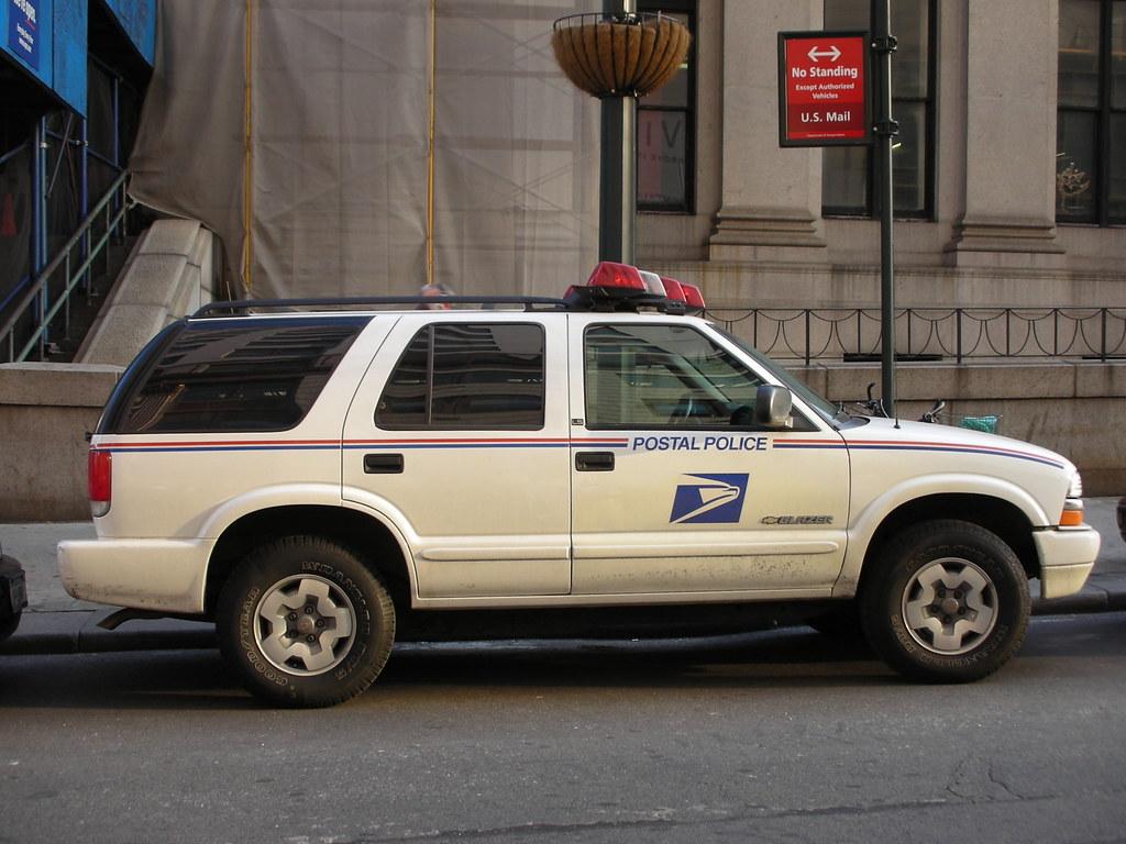 UNITED STATES POSTAL SERVICE USPS POLICE  CHEVY BLAZER