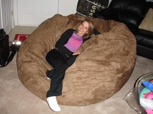 the most comfortable chair folding on ebay huge bean bag lovesac love sac comfy sack fombag   flickr