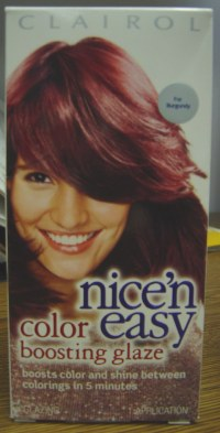 Clairol Nice & Easy Color Boosting Glaze   4RV - for ...
