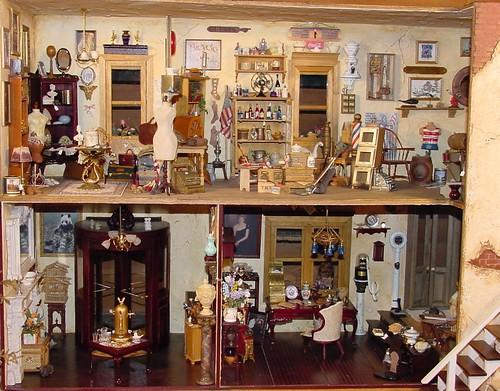 antique 1 12 scale dollhouse