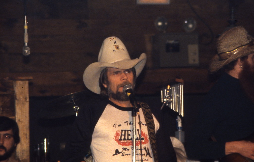 johnny paycheck  Ralph says that on one of their trips
