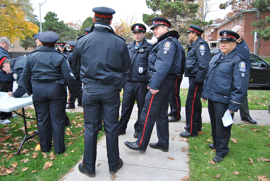 Toronto Police  TAVIS officers Auxiliary officers