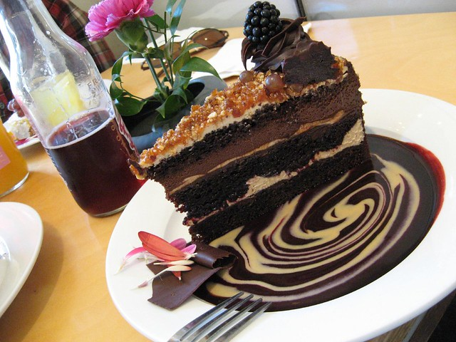 Gianduia Quot Myers S Rum Laced Chocolate Cake Layers Are