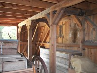 Interior of old Barn at Cross Creek | Inside of the old ...