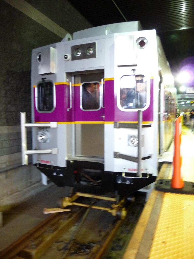 MBTA Commuter Rail Rotem Cab Car 1800 Mockup at North Stat  Flickr