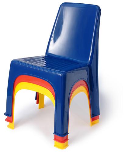 Childrens Monoblock Chairs 2005  by galessas plastics