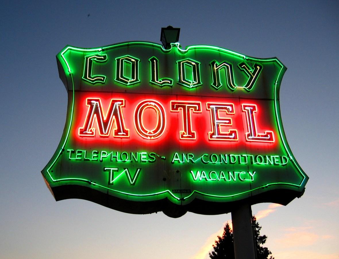 Colony Motel - 9232 Ogden Avenue, Brookfield, Illinois U.S.A. - August 10, 2007