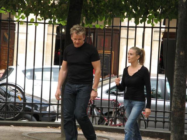 Gordon Ramsay  Gordon Ramsay walking in the Place des Vosg  Flickr