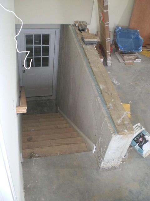 garage stairs to basement  jmckown  Flickr