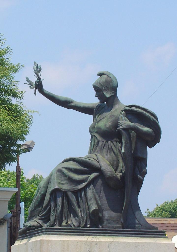 Choate Monument Salem Massachusetts Sculptor John