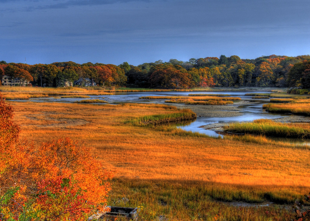 Fall Pictures For Wallpaper Free Cape Cod Fall Foliage Estuary North Falmouth Ma Flickr