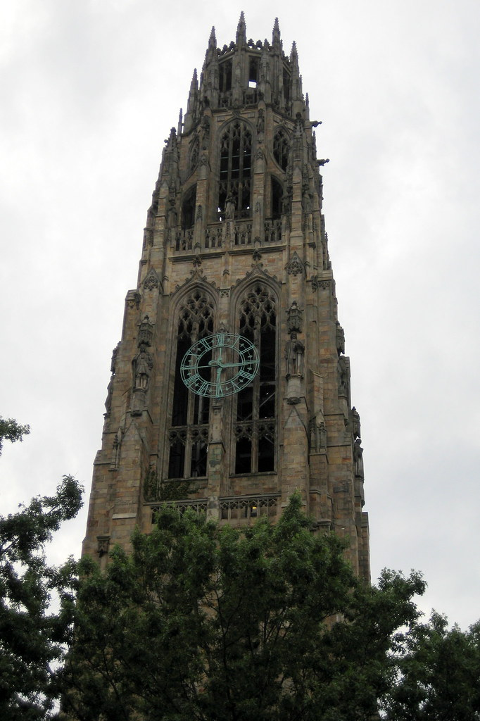 CT New Haven Yale University Harkness Tower