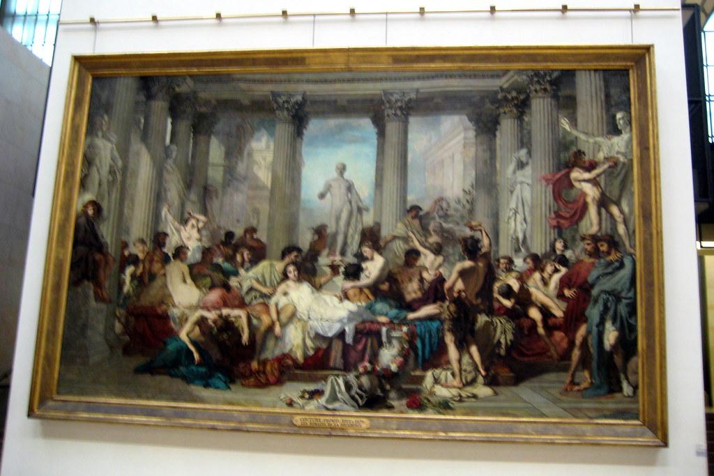 Paris  Muse dOrsay Thomas Coutures Romains de la dca  Flickr