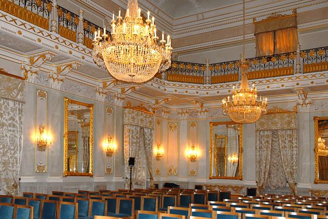 La grande salle ou salle de bal de La Fenice  Venise  Flickr