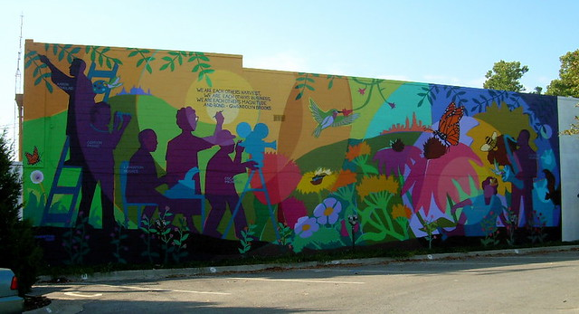 Aaron Douglas Community Mural  The community art project