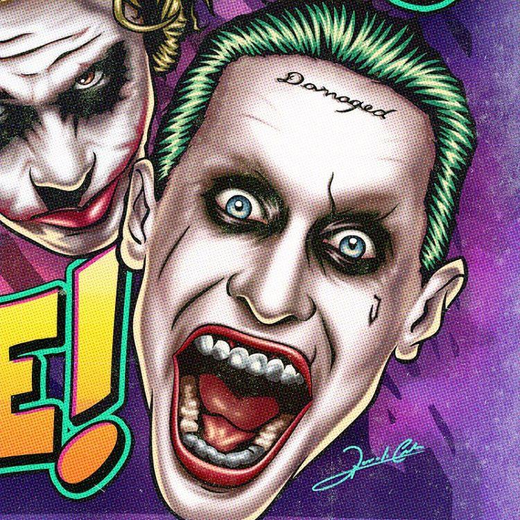Pop Art Wallpaper Girl O Novo Coringa Jared Leto Completa 44 Anos Hoje 🃏🎉 Ja