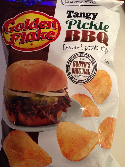 Golden Flake Tangy BBQ Pickle Potato Chip